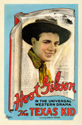 "Movie Posters:Western, The Texas Kid (Universal, 1920). Good/Very Good on Linen. One Sheet(27"" X 40.75"").. ..."