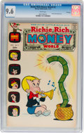 Bronze Age (1970-1979):Humor, Richie Rich Money World #2 File Copy (Harvey, 1972) CGC NM+ 9.6White pages....
