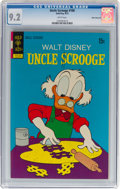Bronze Age (1970-1979):Cartoon Character, Uncle Scrooge #100 White Mountain Pedigree (Gold Key, 1972) CGC NM- 9.2 White pages....
