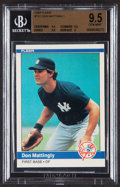 Baseball Cards:Singles (1970-Now), 1984 Fleer Don Mattingly #131 BGS Gem Mint 9.5....