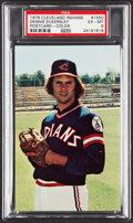 Baseball Cards:Singles (1970-Now), 1976 Cleveland Indians Dennis Eckersley Post Card PSA EX-MT 6....