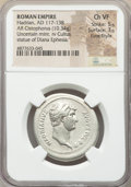 Ancients:Roman Imperial, Ancients: Hadrian (AD 117-138). AR cistophorus (29mm, 10.34 gm,7h). NGC Choice VF 5/5 - 3/5, Fine Style....