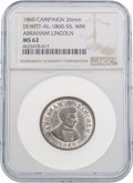 Political:Tokens & Medals, Abraham Lincoln: Anti-Slavery Token....