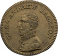 Political:Tokens & Medals, Andrew Jackson: 1824 Campaign Token.. ...