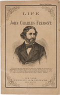 Political:Small Paper (pre-1896), John C. Frémont: Campaign Biography in Pictorial Wraps....
