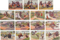 Political:Small Paper (1896-present), William Howard Taft and William Jennings Bryan: Set of Cartoon Postcards.. ...