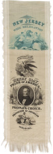 Political:Ribbons & Badges, Henry Clay: New Jersey Delegation Convention Ribbon....