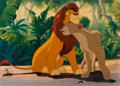 Animation Art:Limited Edition Cel, The Lion King Cast Member Only Limited Edition Cel #39/188 (Walt Disney, 1994)....