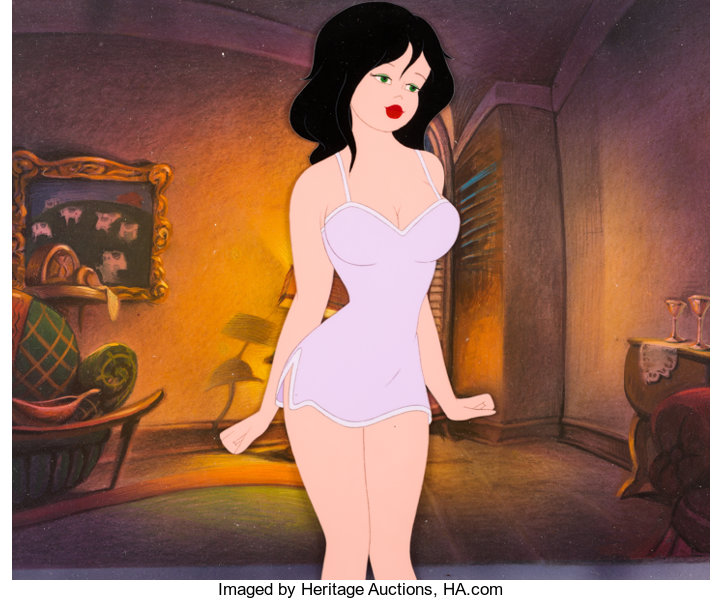 Cool World Lonette Production Cel And Master Production Background Lot 97754 Heritage Auctions