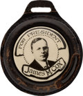 Political:Pinback Buttons (1896-present), James M. Cox: Real Photo Watch Fob....