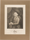 Political:Posters & Broadsides (pre-1896), John Adams: Extra Large Engraving as President....