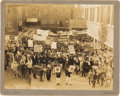Political:Small Paper (1896-present), Woodrow Wilson et al: 1912 Masquerade Pseudo-Political Rally Photo....