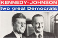 Political:Posters & Broadsides (1896-present), Kennedy & Johnson: Jugate Poster....