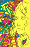 """Political:Posters & Broadsides (1896-present), [Richard Nixon]: 1970 """"American Woman"""" Psychedelic Poster...."""