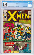 Silver Age (1956-1969):Superhero, X-Men #9 (Marvel, 1965) CGC FN 6.0 Cream to off-white pages....