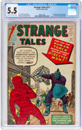 Silver Age (1956-1969):Superhero, Strange Tales #111 (Marvel, 1963) CGC FN- 5.5 Cream to off-whitepages....