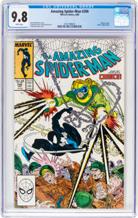 The Amazing Spider-Man #299 (Marvel, 1988) CGC NM/MT 9.8 White pages