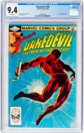 Modern Age (1980-Present):Superhero, Daredevil #185 (Marvel, 1982) CGC NM 9.4 White pages....
