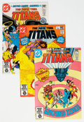Modern Age (1980-Present):Superhero, New Teen Titans Related Group of 58 (DC, 1981-86) Condition:Average NM-.. ... (Total: 58 )