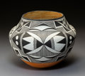 American Indian Art:Pottery, An Acoma Polychrome Jar . Marie Z. Chino . c. 1960...