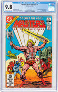 Modern Age (1980-Present):Superhero, Masters of the Universe (DC) #1 (DC, 1982) CGC NM/MT 9.8 Off-whiteto white pages....