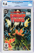 Modern Age (1980-Present):Superhero, Saga of the Swamp Thing #20 (DC, 1984) CGC NM+ 9.6 White pages....