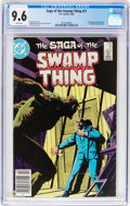 Modern Age (1980-Present):Superhero, Saga of the Swamp Thing #21 (DC, 1984) CGC NM+ 9.6 White pages....