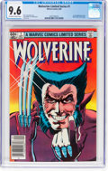 Modern Age (1980-Present):Superhero, Wolverine #1 (Marvel, 1982) CGC NM+ 9.6 Off-white to whitepages....