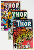 Modern Age (1980-Present):Superhero, Thor Group of 39 (Marvel, 1979-84) Condition: Average NM-....(Total: 39 Comic Books)