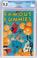 Golden Age (1938-1955):Miscellaneous, Famous Funnies #135 Mile High Pedigree (Eastern Color, 1945) CGC NM- 9.2 White pages....