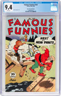 Golden Age (1938-1955):Miscellaneous, Famous Funnies #143 Mile High Pedigree (Eastern Color, 1946) CGC NM 9.4 White pages....