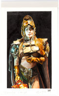 "Original Comic Art:Paintings, ""Dumpstar"" Character Concept Painting Original Art (undated)...."