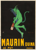 Movie Posters:Miscellaneous, Maurin Quina (1906). Very Fine+ on Linen. French A...