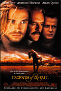 """Movie Posters:Drama, Legends of the Fall (Tri-Star, 1994). Rolled, Very Fine. VideoPosters (25) Identical (26.75"""" X 39.75""""). Drama.. ... (Total: 25Items)"""