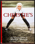 """Movie Posters:Miscellaneous, Marilyn Monroe Lot (Christie's, 1999). Very Fine-. Hardcover Auction Catalog (415 Pages, 8.5"""" X 10.75""""). Miscellaneous.. ..."""