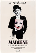 "Movie Posters:Documentary, Marlene (Alive, 1984). Rolled, Very Fine-. One Sheet (27"" X 40"").Michael Vollbrach Artwork. Documentary.. ..."