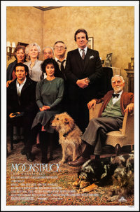 "Moonstruck (MGM, 1987). Rolled, Very Fine+. One Sheet (27"" X 41"") SS, Style B. Comedy"