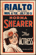 "Movie Posters:Comedy, The Actress (MGM, 1928). Fine. Window Card (14"" X 22""). Comedy....."