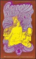 """Movie Posters:Rock and Roll, Grateful Dead at the Fillmore (Bill Graham, 1967). Very Fine+. Concert Poster (14"""" X 23"""") Post-Concert 2nd Printing, Wes Wil..."""