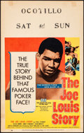"Movie Posters:Sports, The Joe Louis Story (United Artists, 1953). Very Fine-. Window Card (14"" X 22""). Sports.. ..."
