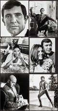 """Movie Posters:James Bond, On Her Majesty's Secret Service (United Artists, 1970). Overall: Very Fine-. Photos (11) (Approx. 8"""" X 10"""" & 7.25"""" X 9.75"""").... (Total: 11 Items)"""