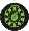 Music Memorabilia:Memorabilia, Apple Records Dartboard (circa late 1960s).  A...
