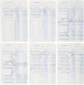 Music Memorabilia:Documents, The Beatles Royalty Statements (1969). . ...