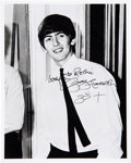 Music Memorabilia:Autographs and Signed Items, George Harrison 8 X 10 Signed Photograph. . ...