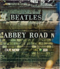 Music Memorabilia:Posters, The Beatles Abbey Road EMI Promotional Poster (1969). . ...