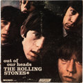 Music Memorabilia:Memorabilia, The Rolling Stones Out of Our Heads Promo Display (1965). . ...