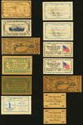 Miscellaneous:Other, Wooden Certificates 1936-1976 Twenty-three Examples.. ... (Total: 23 items)