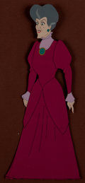 Animation Art:Production Cel, Cinderella Lady Tremaine Production Cel (Walt Disney,1950)....