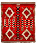 American Indian Art:Weavings, A Navajo Regional Rug. Early Red Mesa. c. 1900. ...