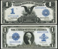 Large Size:Group Lots, Fr. 236 $1 1899 Silver Certificate Very Fine;. Fr. 237 $1 1923 Silver Certificate Extremely Fine.. ... (Total: 2 notes)